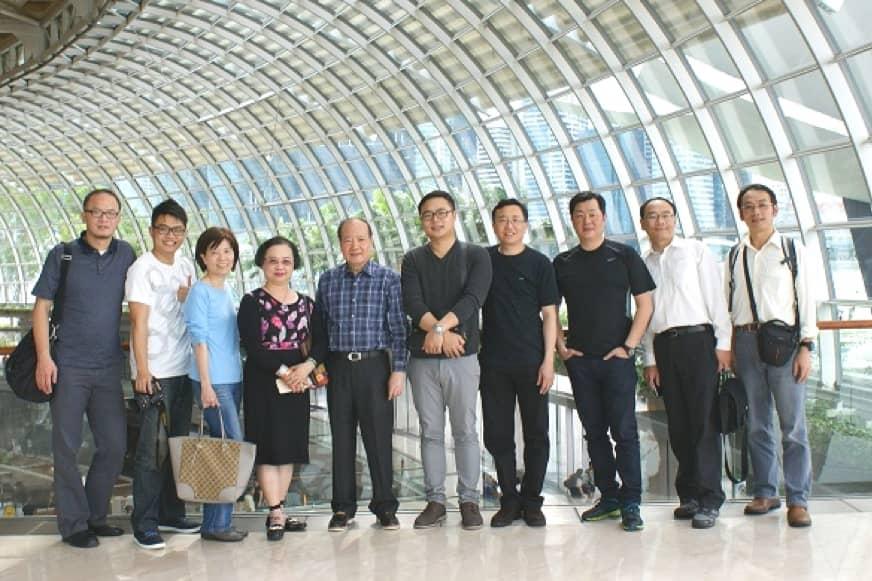 造訪新加坡SCDA設計公司建築考察